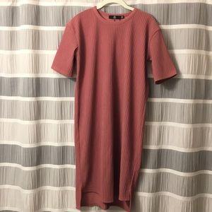 Maternity Blush Rose Dress